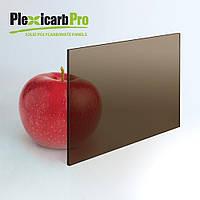 Монолитный поликарбонат PlexicarbPro, бронза 36%, 3 мм