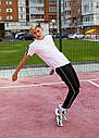 Спортивные штаны с полосками мужские черные от бренда ТУР модель Кейдж (Cage) размер S, M, L, XL, фото 7