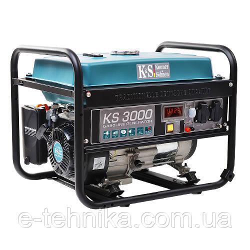 Генератор бензиновый Konner&Sohnen KS 3000