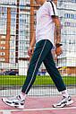 Легкие спортивные штаны мужские темно-зеленые от бренда ТУР модель Кейдж (Cage) размер S, M, L, XL, фото 2