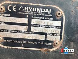 Гусеничный экскаватор HYUNDAI ROBEX 320 LC-9 (2011 г), фото 3