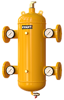 Гидрострелка с сепаратором воздуха и шлама KVANT AirDirt TRF фланцевая