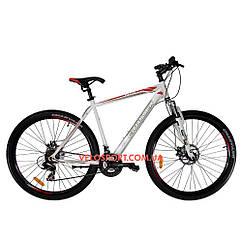 """Горный велосипед Crosser Faith 29 дюймов 22"""" белый"""