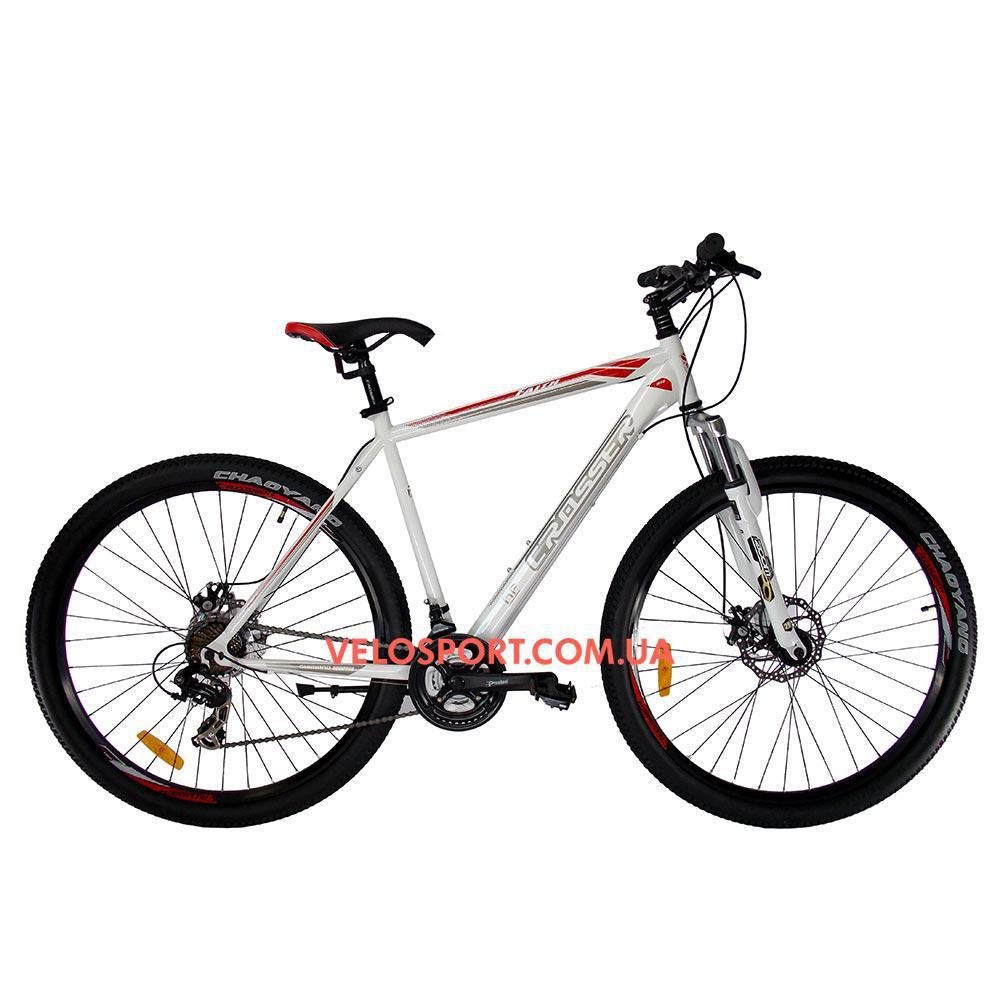 """Копія Горный велосипед Crosser Faith 29 дюймов 22"""" белый"""