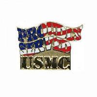 Значок USMC Proudly Served