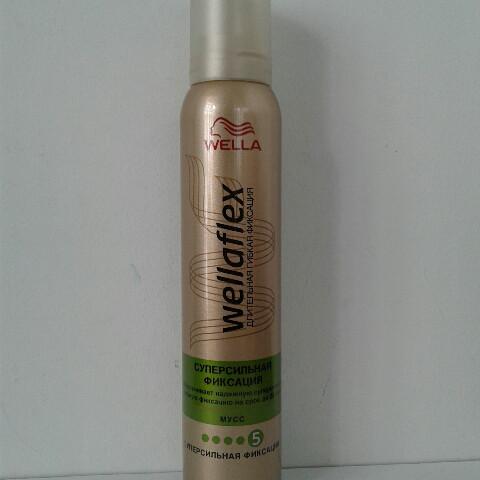 Мусс для волос Wellaflex 200 мл. (Велла суперсильная фиксация)