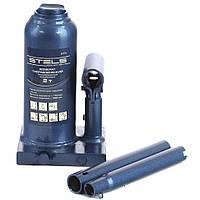 Домкрат гидравлический бутылочный телескопический 2 т h подъема 170–380 мм STELS 51115
