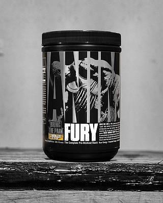 UN Animal Fury 80,15 г - watermelon