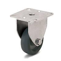 Колеса с неповоротным кронштейном Фрегат 60 10 050 СТ, диаметр 50 мм, нагрузка 40 кг (Аппаратные колеса (эконом серия))