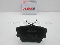 Тормозные колодки задние (без датчика износа) на Рено Трафик ABE C2W011ABE