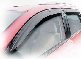 Дефлекторы окон (ветровики) Mazda 2 c 2014-накладные 4шт  (HIC)