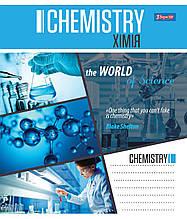 1В ПРЕДМЕТКА (World of Science) (микс 7 видов) набор тетрадей ученических