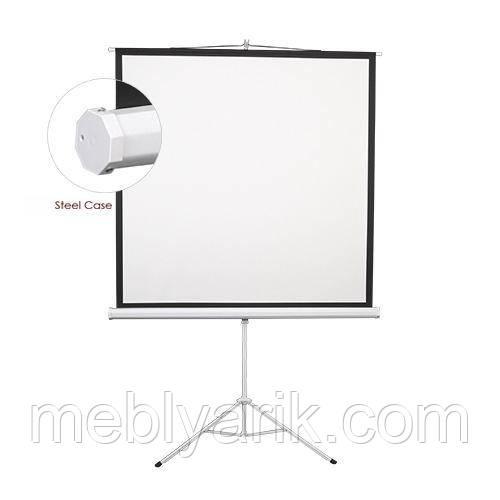 Екран на тринозі Lumi 200*200 ESDB112 (1:1)