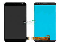 Модуль Huawei MediaPad X1 black дисплей экран, сенсор тач скрин для планшета