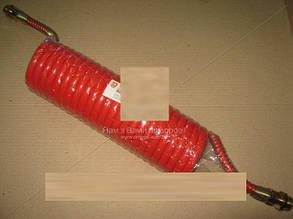 Шланг витой полиуретан М22x1,5 (красн.) 7 м. DAF, MAN  Дорожная карта 05HH0108-B