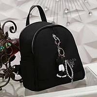 Женский рюкзак брендовый Prada Прада дорогой Китай черный, фото 1