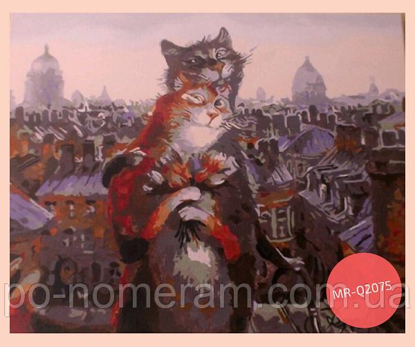 картины по номерам питерские коты