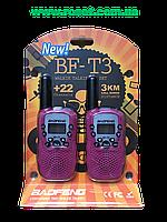 Комплект раций, минирадиостанции -  Baofeng BF-T3 (2 рации).