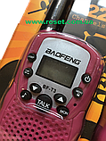 Комплект раций, минирадиостанции -  Baofeng BF-T3 (2 рации)., фото 4