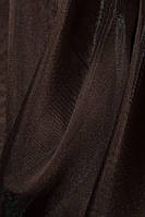 Ткань муар Темный шоколадад