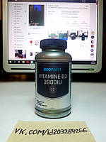 Body & Fit Vitamine D3 3000 IU 180 табл, фото 1