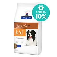 Hill's PD Canine K/D Лечебный корм для собак Заболевания почек, 2 кг