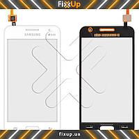 Тачскрин Samsung G355H Galaxy Core 2, цвет белый, на 2 sim карты, ревизия 0, копия высокого качества