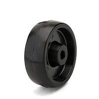 Колесо без кронштейна, диаметр 125 мм, нагрузка 180 кг, Фрегат 70 125 СТ (Термостойкая фенольная смола)