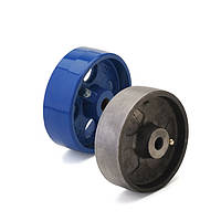 Колесо без кронштейна, диаметр 80 мм, нагрузка 250 кг, Фрегат 72 080 СТ (Чугун)