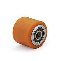 Ролик для гидравлической тележки, диаметр 70 мм, нагрузка 400 кг, Фрегат 80 70-60 ПТ (Ролики для гидравлическиx тележек)