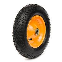 Пневматические колеса, диаметр ~375 мм, нагрузка 90 кг, Фрегат 82 3-50-8 ШК (Колеса пневматические)