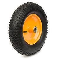 Пневматические колеса, диаметр ~400 мм, нагрузка 120 кг, Фрегат 82 4-00-8 ШК-3 (Колеса пневматические) широкая ступица