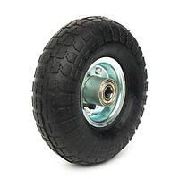 Пневматические колеса, диаметр ~270 мм, нагрузка 90 кг, Фрегат 82 3-50-4 ШК-1 (Колеса пневматические) ось 16мм