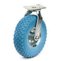 Поворотные и неповортоные в кронштейне, диаметр 260 мм, нагрузка 90 кг, Фрегат 83 20 3-50-4 ШК (Колеса пенополиуретан.)