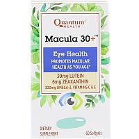 Quantum Health, Macula 30+, Eye Health, 60 Softgels, фото 1