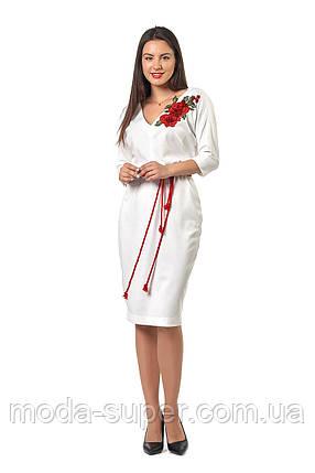 82019523073 Платье выполнено из французского трикотажа высокого качества ...