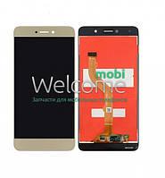 Модуль Huawei Y7 (TRT-LX1) gold дисплей экран, сенсор тач скрин Хуавей Хуавэй У7