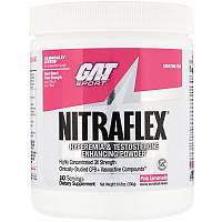 GAT, Нитрафлекс, розовый лимонад, 10,6 унции (300 г)