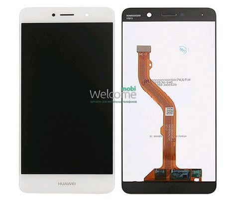 Модуль Huawei Y7 (TRT-LX1) white дисплей экран, сенсор тач скрин Хуавей Хуавэй У7