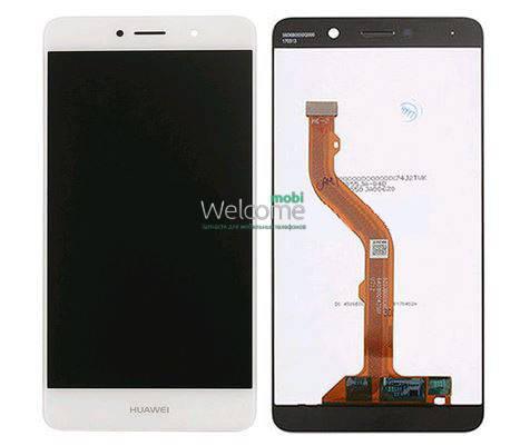 Модуль Huawei Y7 (TRT-LX1) white дисплей экран, сенсор тач скрин Хуавей Хуавэй У7, фото 2