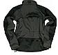 Куртка демисезонная soft shel черная   PLUS  MIL-TEC Германия, фото 2