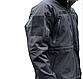 Куртка демисезонная soft shel черная   PLUS  MIL-TEC Германия, фото 7