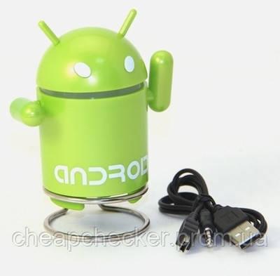 MP3 Колонка Android Robot Андроид Робот