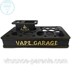 Подставка под Баки/Моды/Жидкости/Дрип типы VAPE GARAGE