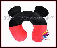 Подушки с ушами под шею с вашим логотипом под заказ (от 50 шт.)