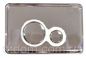 Кнопка слива Cersanit Slim&Silent OTTO, хром K97-236