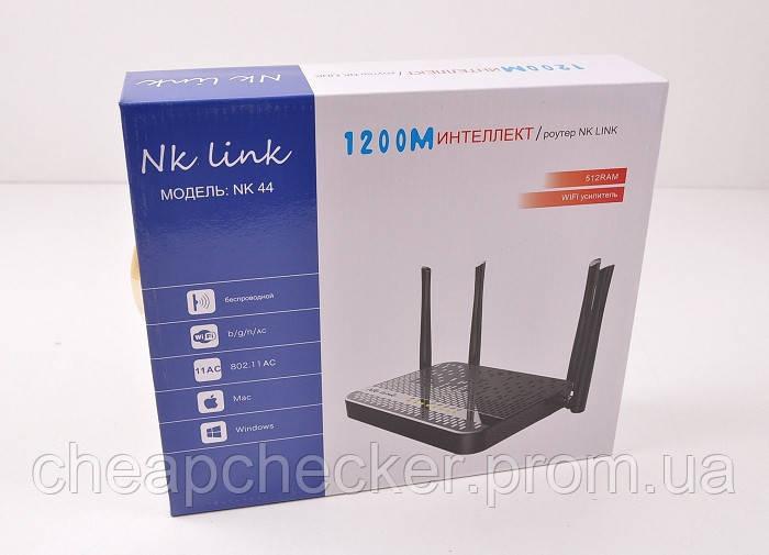 Wi-FI Роутер NK Link Беспроводной Маршрутизатор 1200 Мб NK 44 am