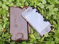 Шкіряний чохол для iPhone, Кожаный чехол для iPhone, фото 1