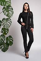 Костюм женский с пиджаком на молнии
