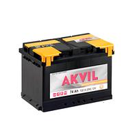 Авмобильный аккумулятор AKVIL STANDARD 6СТ- 74А3 720А R